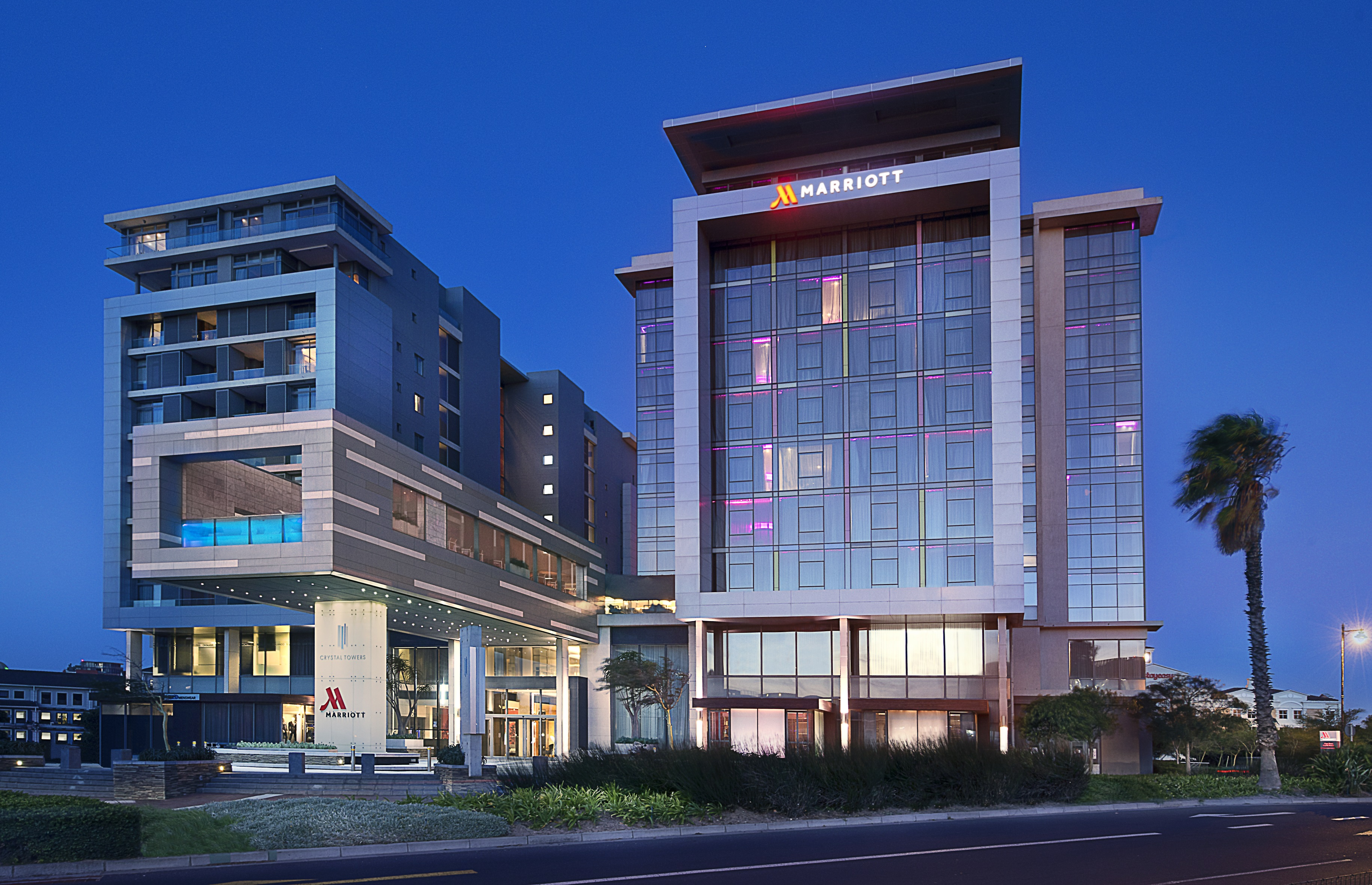Crystal Towers becomes the first Marriott branded hotel in South Africa