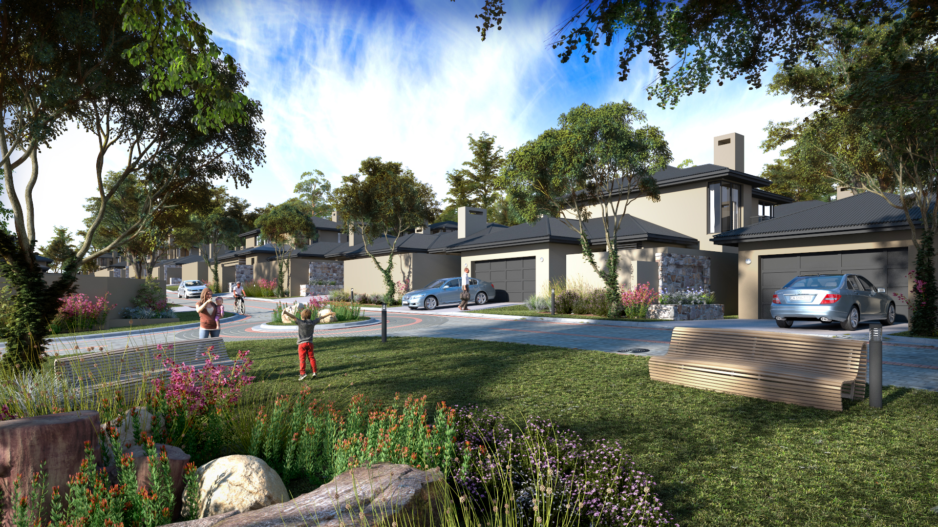 Townhouses launching at durbanville for Clara house