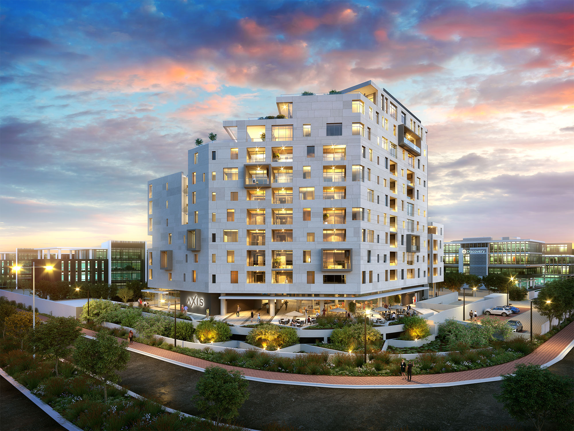 AXIS: LUXURY CENTURY CITY APARTMENTS FROM R3,5M