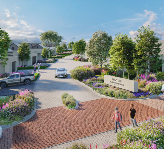 Rabie's first Oasis Life retirement village in Clara Anna Fontein, Durbanville
