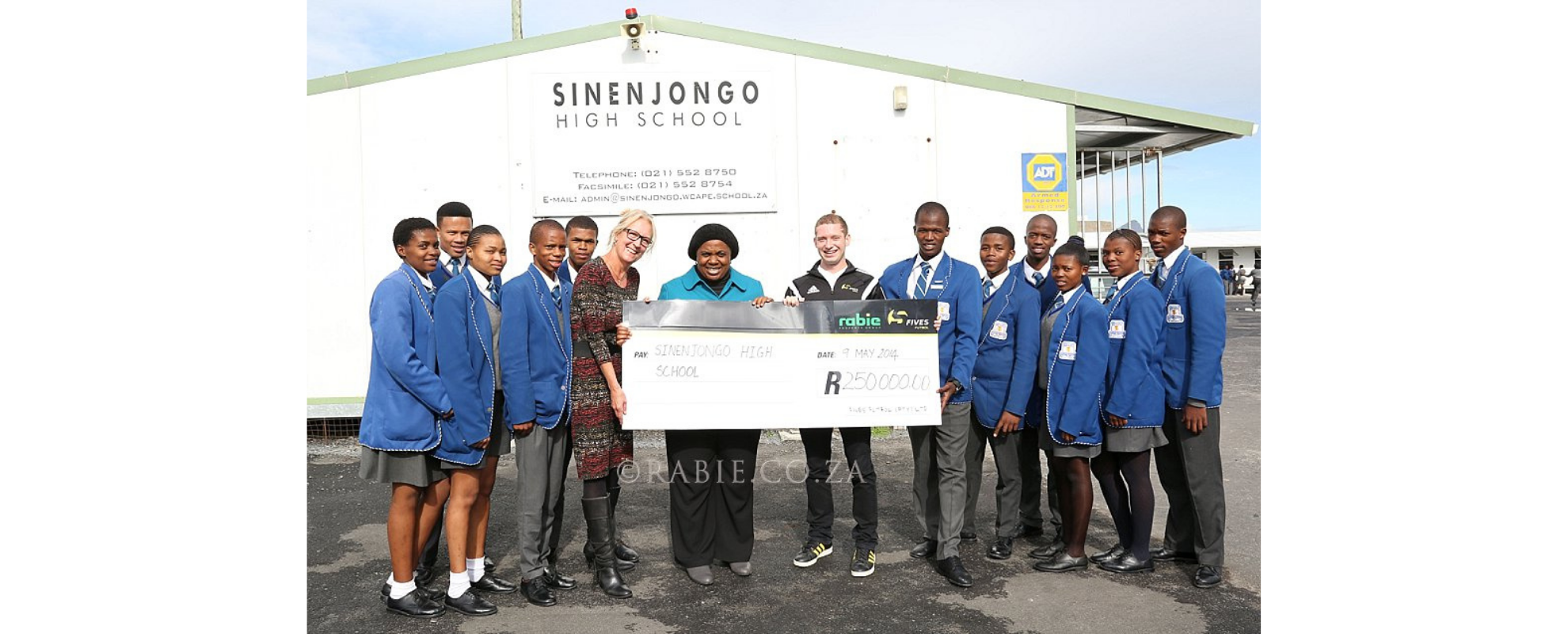 Maggie Rowley Sinenjongo Assistance Fund, Maggie Rowley's legacy honoured with Fund for Sinenjongo students, Rabie.co.za